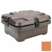 Cambro 240MPC157 - Camcarrier, Half Size Food Pans, 16-1/2x13-7/8, Stacking Lugs, Coffee Beige
