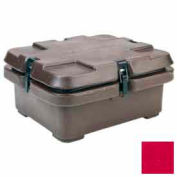 Cambro 240MPC158 - Camcarrier, for Half Size Food Pans, 16-1/2x13-7/8, Stacking Lugs, Hot Red