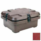 Cambro 240MPC402 - Camcarrier, for Half Size Food Pans, 16-1/2x13-7/8, Stacking Lugs, Brick Red