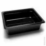 "Cambro 24CW135 - Camwear Food Pan, 1/2 Size, 4"" Deep, Polycarbonate, Clear, NSF - Pkg Qty 6"