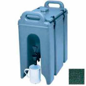 "Cambro 250LCD519 - Camtainer Beverage Carrier, 2-1/2 Gallon, 16-1/2""D x 9""W x 18-3/8""H, Green"