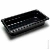 "Cambro 32CW135 - Camwear Food Pan, Plastic, 1/3 Size, 2-1/2"" Deep, Polycarbonate, Clear, NSF - Pkg Qty 6"