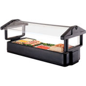 "Cambro 4FBRTT110 - Tabletop Salad Bar, 51""L x 27""H, Table Top, 4-Pan Size, Breathguard, Black"