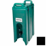 "Cambro 500LCD110 - Camtainer Beverage Carrier, 4-3/4 Gallon, 16-1/2""D x 9""W x 24-1/4""H, Black"