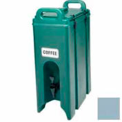 Cambro 500LCD401 - Beverage Carrier, Insulated Plastic, 4-3/4 Gal., 16-1/2 x 9 x 24-1/4, Slate Blue