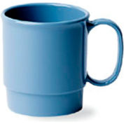 Cambro 75CW401 - Cup  Stacking 7.5 Oz., Slate Blue - Pkg Qty 48