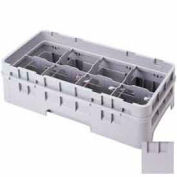 "Cambro 8HE2151 - Half Drop Extender, Half Size, 8-Comp, Adds 1-5/8"" To Rack Height, Soft Gray - Pkg Qty 12"