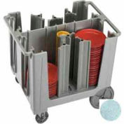 Cambro ADCS480 - Adjustable Dish Caddy, Speckled Gray