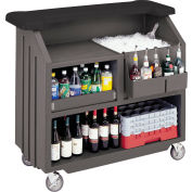 Cambro BAR540DS672 - Small Size, Bottle Service,  Designer Decor, Granite Sand Base w/Cocoa Counter