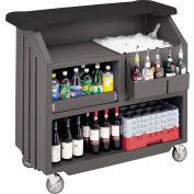 Cambro BAR540DS672 - Small Size, Bottle Service,  Designer Decor, Granite Sand Base w/Cocoa Counter
