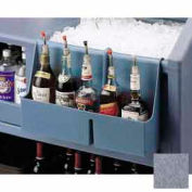 Cambro BAR54SR191 - Speed Rail 5-bottle Granite Gray
