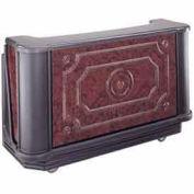 "Cambro BAR730DSCP669 - Portable Bar 72-3/4"" W/Cold Plate Carmel"