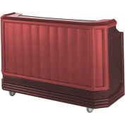 Cambro BAR730PM189 - Large Size w/Post-mix system Bag-in-box Syrup, Two-Tone Brown/Mahogany
