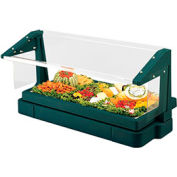 Cambro BBR720519 - Buffet Bar with Sneeze Guard 24 x 73, Green