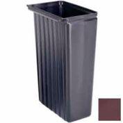 Cambro BC11TC131 - Bus Cart Trash Container, 11 gallon, for service cart, Dark Brown, NSF