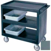 "Cambro BC2354S401 - Bus Cart 5"" Casters (4 Swivel 1 with Brake) Slate Blue NSF"