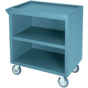 "Cambro BC330401 - Bus Cart 330 With  5"" Casters, Slate Blue NSF"