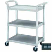 "Cambro BC331KD110 - Bus Cart, 3 Shelves, 4"" Casters, Black"