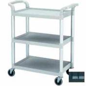 "Cambro BC331KD110 - Bus Cart, 3 Shelves, 4"" Casters, Black"