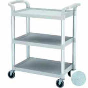 """Cambro BC331KD480 - KD Bus / Service Cart, 4"""" Swivel Casters, Speckled Gray"""