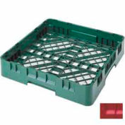 """Cambro BR258163 - Camrack  Base Rack Full Size 4"""" Inside Stack Height Red NSF - Pkg Qty 6"""