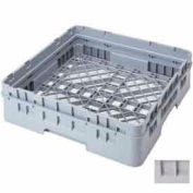 "Cambro BR414151 - Camrack  Base Rack 4-1/4"" Inside Stack Height Soft Gray NSF - Pkg Qty 5"