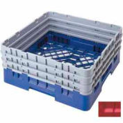 """Cambro BR712163 - Camrack  Base Rack 7-1/2"""" Inside Stack Height Red NSF - Pkg Qty 3"""