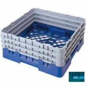 "Cambro BR712414 - Camrack Base Rack, Full Size, 8-1/8"" Compartment Height, Teal, NSF - Pkg Qty 3"