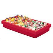 Cambro BUF48158 - Buffet Bar 24 x 41, Hot Red