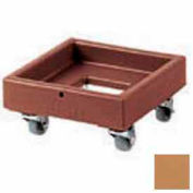 Cambro CD1313157 - Camdolly Milk Crate Coffee Beige Load Capacity 250 lbs