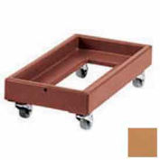 Cambro CD1327157 - Camdolly Milk Crate Coffee Beige Load Capacity 300 lbs.
