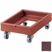 Cambro CD1420131 - Camdolly Milk Crate Dark Brown Load Capacity 350 lbs.