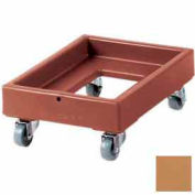 Cambro CD1420157 - Camdolly Milk Crate Coffee Beige Load Capacity 350 lbs.