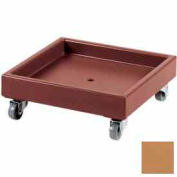 Cambro CD2020157 - Camdolly  For Camracks  Coffee Beige