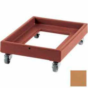 Cambro CD2028157 - Camdolly  For Milk Crates, Coffee Beige, NSF