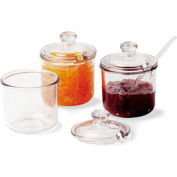 Cambro CJ80CW135 - Condiment Jar With Cover, Clear - Pkg Qty 24