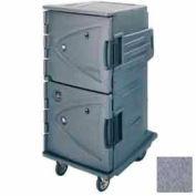 Cambro CMBH1826TBC191 - Hot Cart Tall Profile Celsius Granite Gray