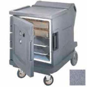 Cambro CMBHC1826LC191 - Hot/Cold Electric Cart Low Profile Granite Gray