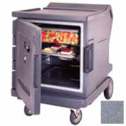 Cambro CMBHC1826LF191 - Hot/Cold Electric Cart Low Profile Granite Gray Celsius
