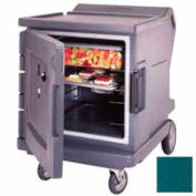 Cambro CMBHC1826LTR192 - Security Package Hot/Cold Cart Granite Green