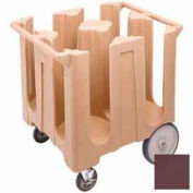 "Cambro DC1225131 - Dish Cart Maximum Dish Size 12-1/4"" Dark Brown"