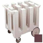 Cambro DC575131 - Dish Cart Maximum Dish Size 5-3/4 Dark Brown