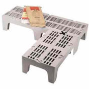 """Dunnage Rack, Slotted Top, Speckled Gray 21""""W x 30""""D"""