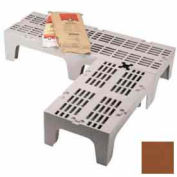 """Dunnage Rack, Solid Top, 21""""W x 48""""D Dark Brown"""