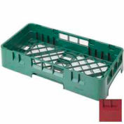 "Cambro HBR258416 - Camrack  Base Rack, 1/2 Size, 19-3/4"" x 9-7/8"", 2-5/8"" Inside Stack Ht., Crnbrry - Pkg Qty 6"