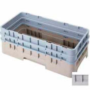 "Cambro HBR578151 - Camrack  Base Rack  5-7/8"" Inside Stack Height Soft Gray - Pkg Qty 4"