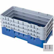 "Cambro HBR712151 - Camrack  Base Rack  7-1/2"" Inside Stack Height Soft Gray - Pkg Qty 3"