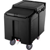 Cambro ICS125L110 - Ice Caddy, Black, 125 Lbs. Capacity