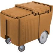 "Cambro ICS175LB157 - Ice Caddy, Beige, 125lbs. Cap, Short, 2 Swivel, 1 w/Brake, 2, 10"" Easy Wheels"