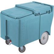 "Cambro ICS175LB401 - Ice Caddy, Blue, 125lbs. Cap, Short, 2 Swivel, 1 w/Brake, 2, 10"" Easy Wheels"